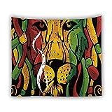 jtxqe Fabrik direkt Tapisserie Picknick Matte Tier Tapisserie Digitaldruck Wolf Lion Tiger heiße Wandbehang Wanddekoration 2 150X100cm