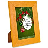 Alwaysgift Merry Christmas Quotation Photo Frames