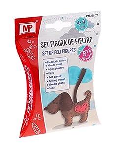 MP Set Figura de Fieltro Perro PM251-20