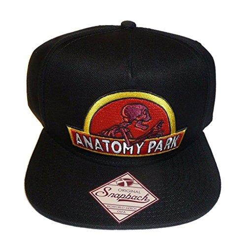 BioWorld - Rick & Morty Anatomy Park Logo Sombrero de béisbol Snapbac