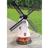 Ad Energia Solare LED Mulino a vento Luce Del Giardino Decorazione Di Ornamento Da esterno Caratteristica Lampada