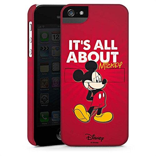 Apple iPhone X Silikon Hülle Case Schutzhülle Disney Mickey Mouse Merchandise Geschenke Premium Case StandUp