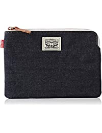 Levi's Mens Denim Zip Pouch Small Wallet