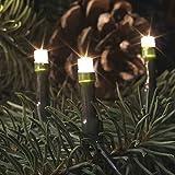 LED Lichterkette f.innen, 20er warmweiss