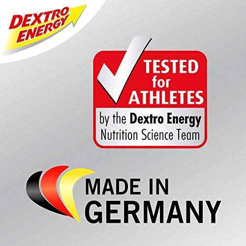 Dextro Energy Liquid Gel Lemon | 6 x 60ml Dextro Energy Gel | Mit Traubenzucker & Koffein | Energieriegel Alternative | 100% Vegan