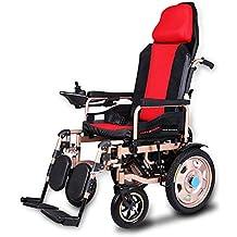 Sillón de ruedas eléctrico de lujo, vespa portable automática inteligente, Sillón de ruedas motorizado