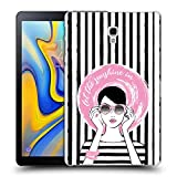 Head Case Designs Offizielle Martina Illustration Hut Frauen Ruckseite Hülle für Samsung Galaxy Tab A 10.5 (2018)