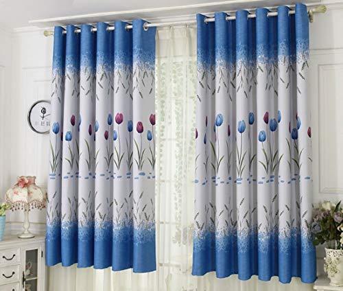 Aooword-home fenstervorhang drapieren Starke strukturierte gemusterte für Wohnzimmer/Schlafzimmer, 1 Panels, 39x79inch Weiß -