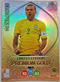 ADRENALYN XL FIFA WORLD CUP 2018 RUSSIA - DANI ALVES PREMIUM GOLD LIMITED EDITION TRADING CARD - BRAZIL