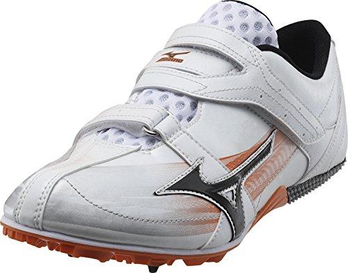 Mizuno Zapatillas de Atletismo de Sintético Para Mujer Blanco Blanco, Color Blanco, Talla 40.5