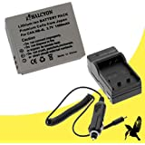 Halcyon 1400 mAH Lithium Ion Replacement Battery and Charger Kit for Canon PowerShot ELPH SD1400 IS 14.1 MP Digital Camera and Canon NB-4L