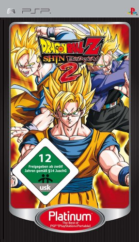 Dragonball Z - Shin Budokai 2 [Platinum] (Z Psp Ball Dragon)