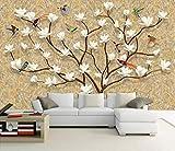 Papel Pintado 3D Árbol Genealógico Europeo Pintado A Mano Árbol De La Vida 200 x 140 cm Fotomurales Pared Dormitorio Papel Pintado Fotográfico Mural