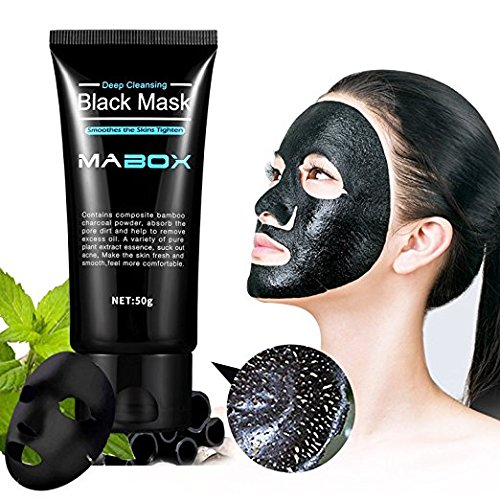SHILLS New & Improved Formula For 2017 With Activated Charcoal Deep Cleansing Purifying Peel-Off Black Face Mask, 100% Genuine, Natural, Oil-Control, Blackhead Removing (50ml)