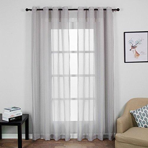 Top finel 2 piezas modernas visillos para ventanas - Visillos para dormitorios ...