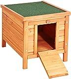 Bunny Business Rabbit/ Guinea Pig Hide House/ Run Hutch, 42 × 43 × 51 cm