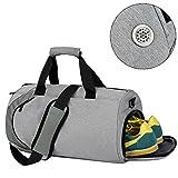 Bai You Mei Sporttasche Fitnesstasche Reisetaschen Gymtasche für Mädchen Jungen Männer und Frauen Wasserresistent mit hochsichtbarem Boden