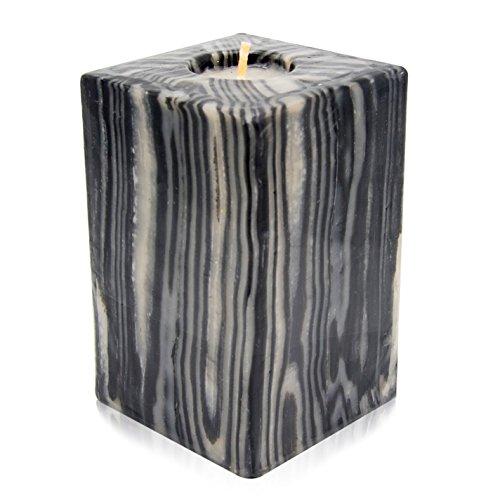 Swazi Candles Handgemachte Kerze Black Bamboo, Cube XL -
