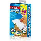 Vileda 4011531 Attractive Plus Staub-Fang-Tücher trocken (24 +6), 2er Pack (2 x 24 +6 Stück)