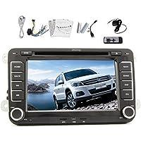In-Dash 7 pollici touch screen digitale lettore DVD con sistema di navigazione GPS BT iPod per VW Amarok Volkswagen Golf Jetta T5 EOS Caddy Polo con CANBUS gratuito