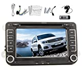 In-Dash 7 Zoll Digital-Touchscreen-DVD-Spieler GPS-Navigationssystem mit BT iPod F¨¹r VW Volkswagen Golf Amarok T5 Jetta EOS Caddy Polo mit kosten CANBUS