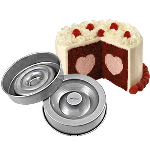 Wilton Herz Tasty Füllen Tin Pan Kuchen Antihaft-Backformen schaffen gefüllt Kuchen