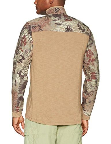 5.11Herren Rapid Half Zip Sweatshirt Coyote