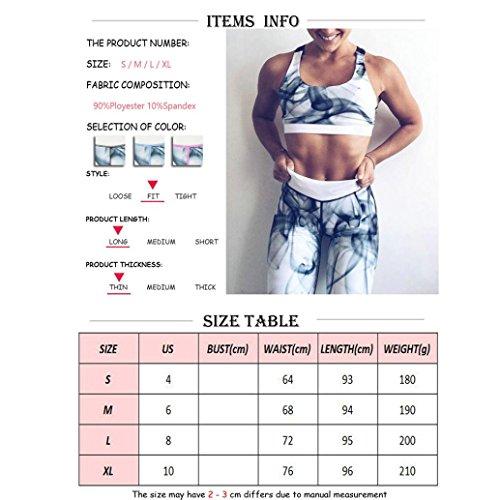 Homebaby Inchiostro Yoga Leggings Sportivi Donna - Eleganti Leggings Sport Opaco Fitness Spandex Palestra Pantaloni Leggins Push Up- Pantaloni Tuta Donna Rosa