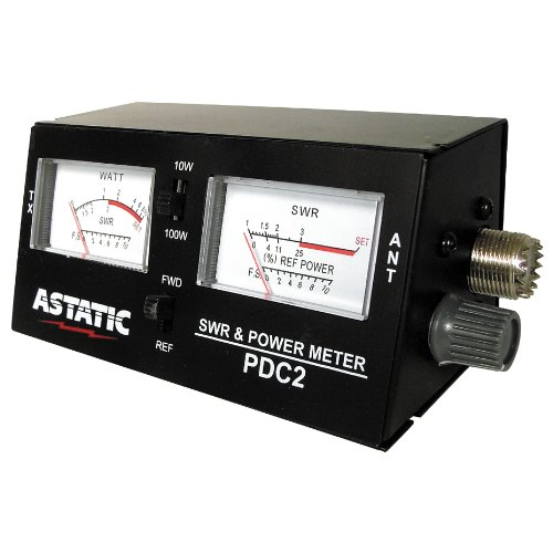 Astatic (302-PDC2) SWR/RF/Field Strength Test Meter, Model: 302-PDC2, Gadget & Electronics Store