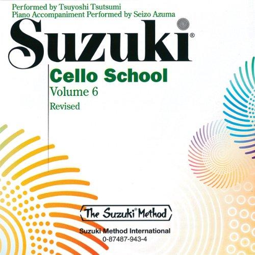 Suzuki Cello School, Volume 6 (Suzuki Method)