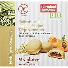 Galletas de trigo sarraceno rellenas de albaricoque bio sin gluten 200gr x 10uds_ Total: 2000gr