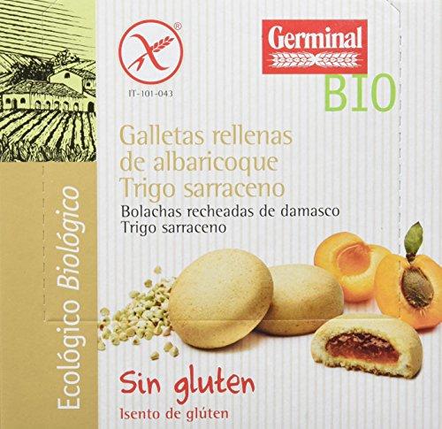 Galletas eco de trigo sarraceno y albaricoque GERMINAL (10 paquetes de 200 gr)