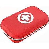 Erste Hilfe Tasche, dauerhaft EVA Stoff Medizinische Tasche mit Zubehör für Wundbehandlung (Rot) preisvergleich bei billige-tabletten.eu