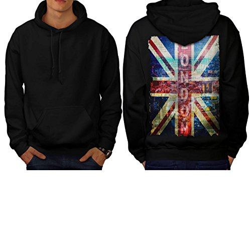 london-england-art-uk-flag-men-new-black-m-hoodie-back-wellcoda