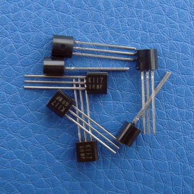 Electronics-Salon 20pcs 2sk117-gr amplificatore audio basso rumore j-fet