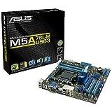 Asus M5A78L-M/USB3 Mainboard Sockel AM3+ (µATX, AMD 760G/SB170, 4x DDR3 Speicher, 6x SATA 3Gb/s, 2x USB 3.0, 4x USB 2.0, PCIe 2.0)