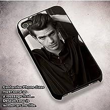 Unique Andrew Garfield BW for Funda iPhone 6 and Funda iPhone 6s Case (Black Hardplastic Case) I7X3RJR