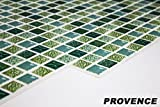 1 PVC Dekorplatte Mosaic Wandverkleidung Platten Wand 95x48cm, PROVENCE