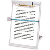 VRIZON Multifunction Reading Clipboard Cum Exam Pad with Backside Adjustable Stand - Book Holder Reading Bookshelf Frame…