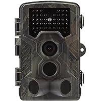 """Seasaleshop Wildkamera Fotofalle 1080P Full HD 12MP Jagdkamera Weitwinkel Vision Infrarote 20m Nachtsicht Wasserdichte IP65 Überwachungskamera mit 2.0"""" LCD Display"""
