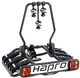 Hapro Atlas 3 Fahrradträger für 3 Fahrräder, Anhängerkupplung, 7-polig, Klappbar