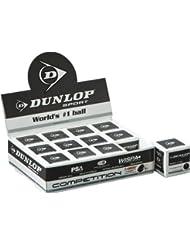 Dunlop Pro - Paquete de pelotas de Squash (12 unidades) Single Yellow Talla:-