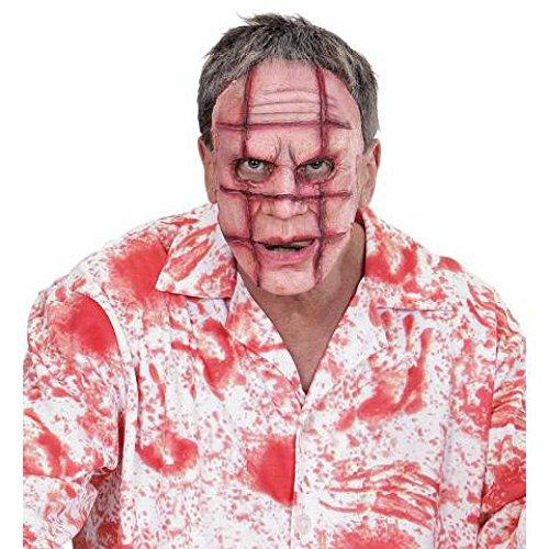 Latex Maske Zombie Halloween (Kostüm Wanderer Zombie)