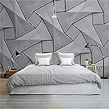 Moderne 4D Tapete Wand Zement Seidentuch Tapete, dreidimensionale graue Wand Schlafzimmer Schlafzimmer Dekoration Tapete, 300 * 210