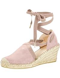 6bd8344a Amazon.es: Rosa - Alpargatas / Zapatos para mujer: Zapatos y ...
