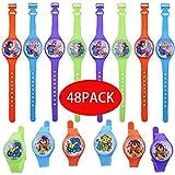 Gudotra 48pcs Laberinto Colorido Relojes Pulseras Infantiles Detalles Regalos Cumpleaños Ninos Juguetes Infantiles La Longitud es de 18cm…