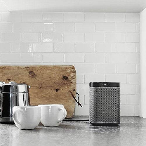 Sonos PLAY:1 I Kompakter Multiroom Smart Speaker für Wireless Music Streaming (schwarz) - 6