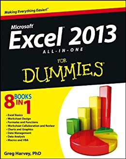 Excel 2013 All-in-One For Dummies by [Harvey, Greg]