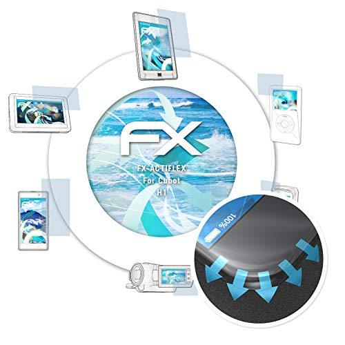 atFolix Schutzfolie passend für Cubot H1 Folie, ultraklare & Flexible FX Bildschirmschutzfolie (3X)