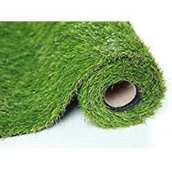 Sumc césped artificial exterior de gran calidad para jardines terraza 30mm en rollos de 1m x 2m